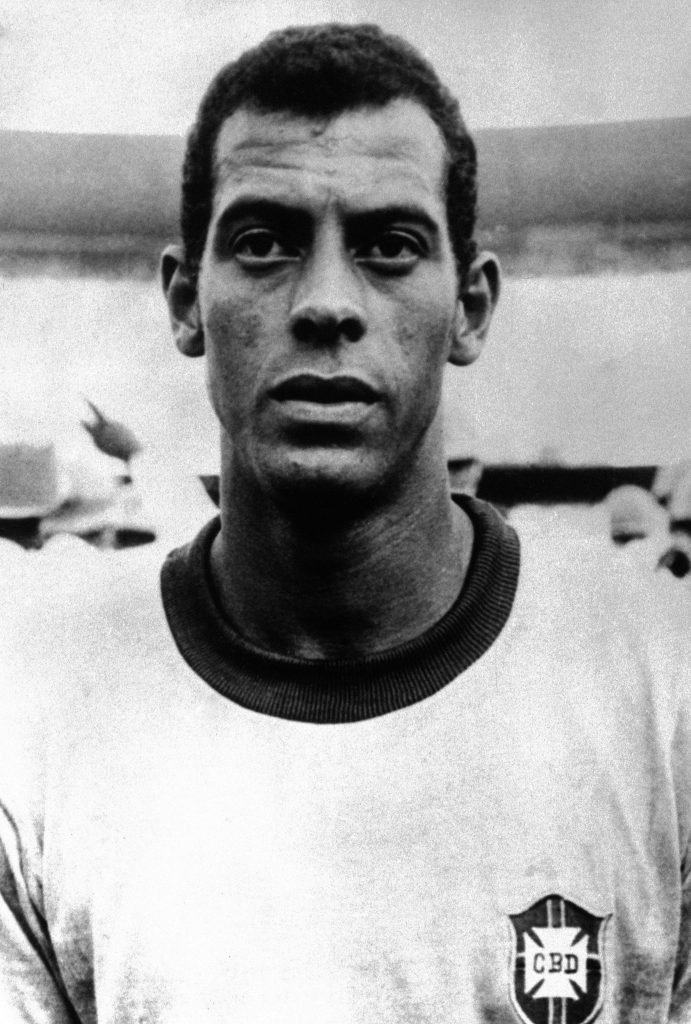 Brazilian footballer Carlos Alberto.