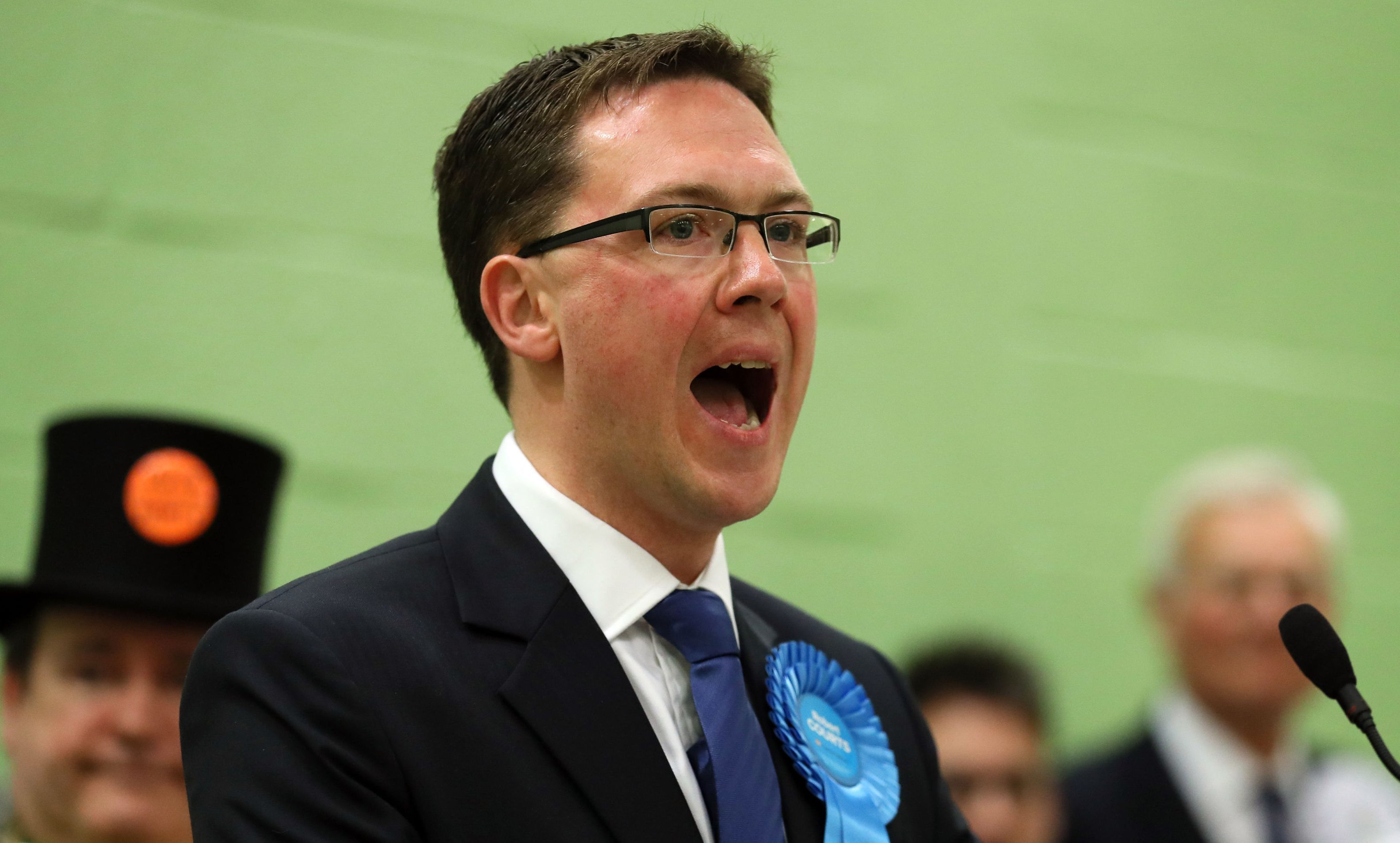 Robert Courts speaks after winning the Witney by-election.