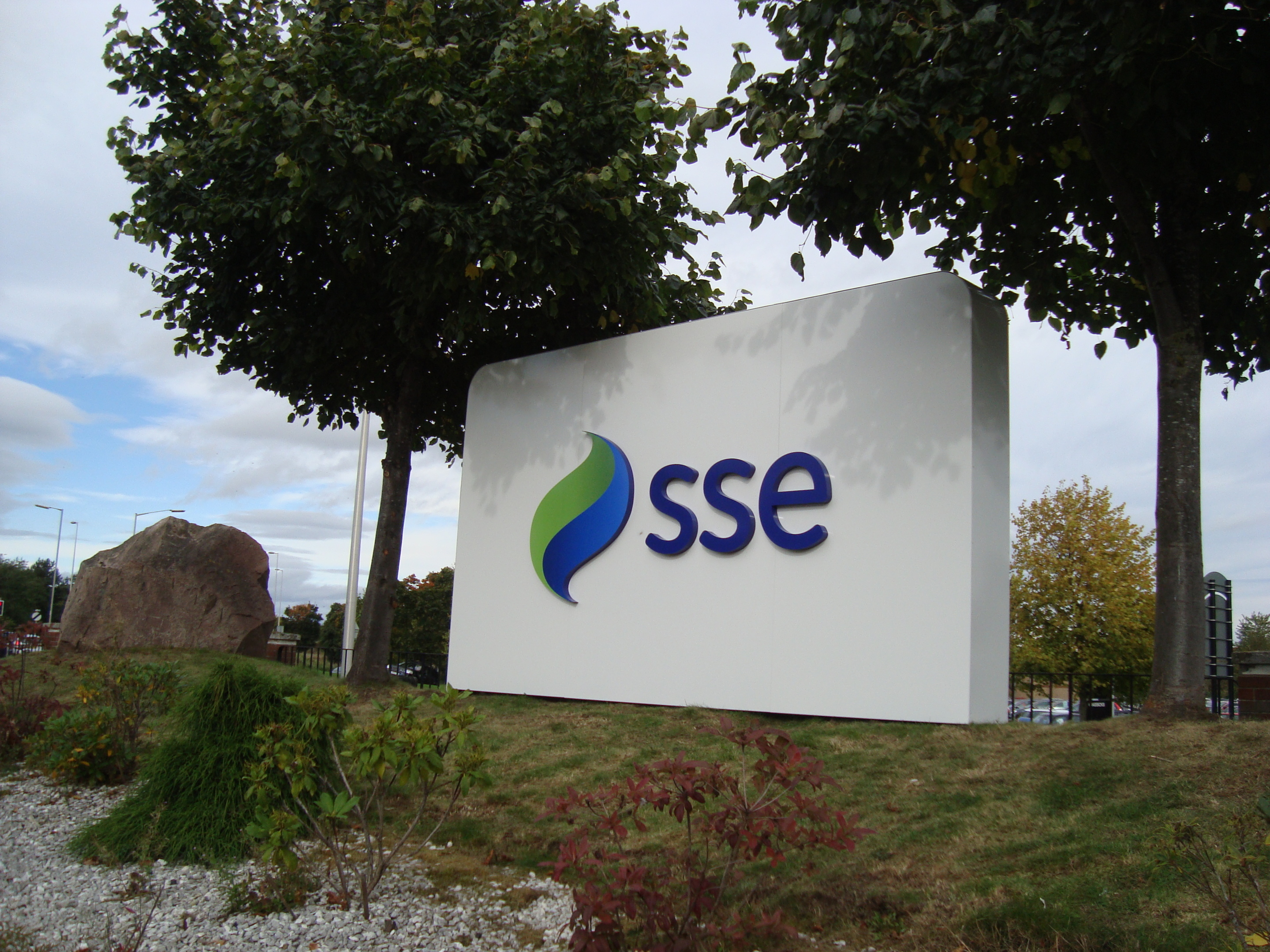 Scottish and Southern Energy headquarters in Perth.