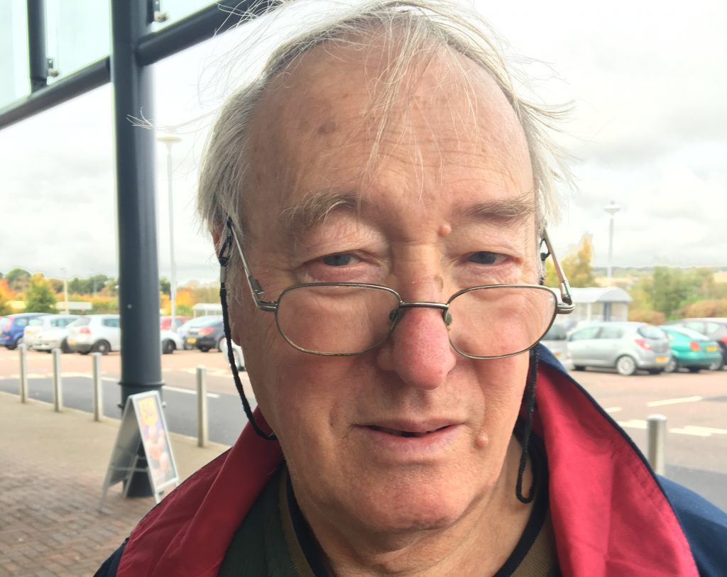 Ron Oakley, retired physics teacher of Broughty Ferry, is a No voter