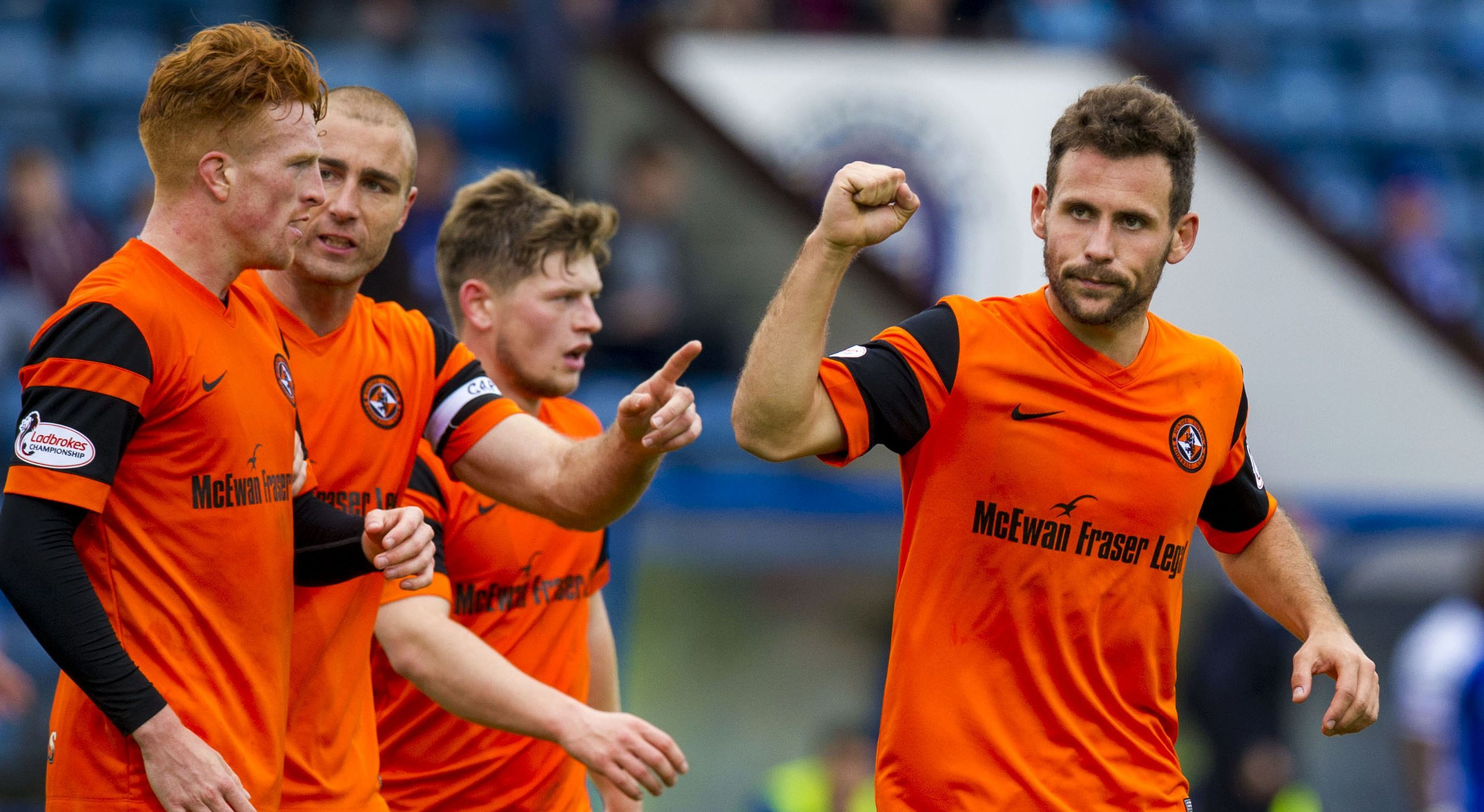 United beat Stranraer on Saturday to progress to quarter-finals.