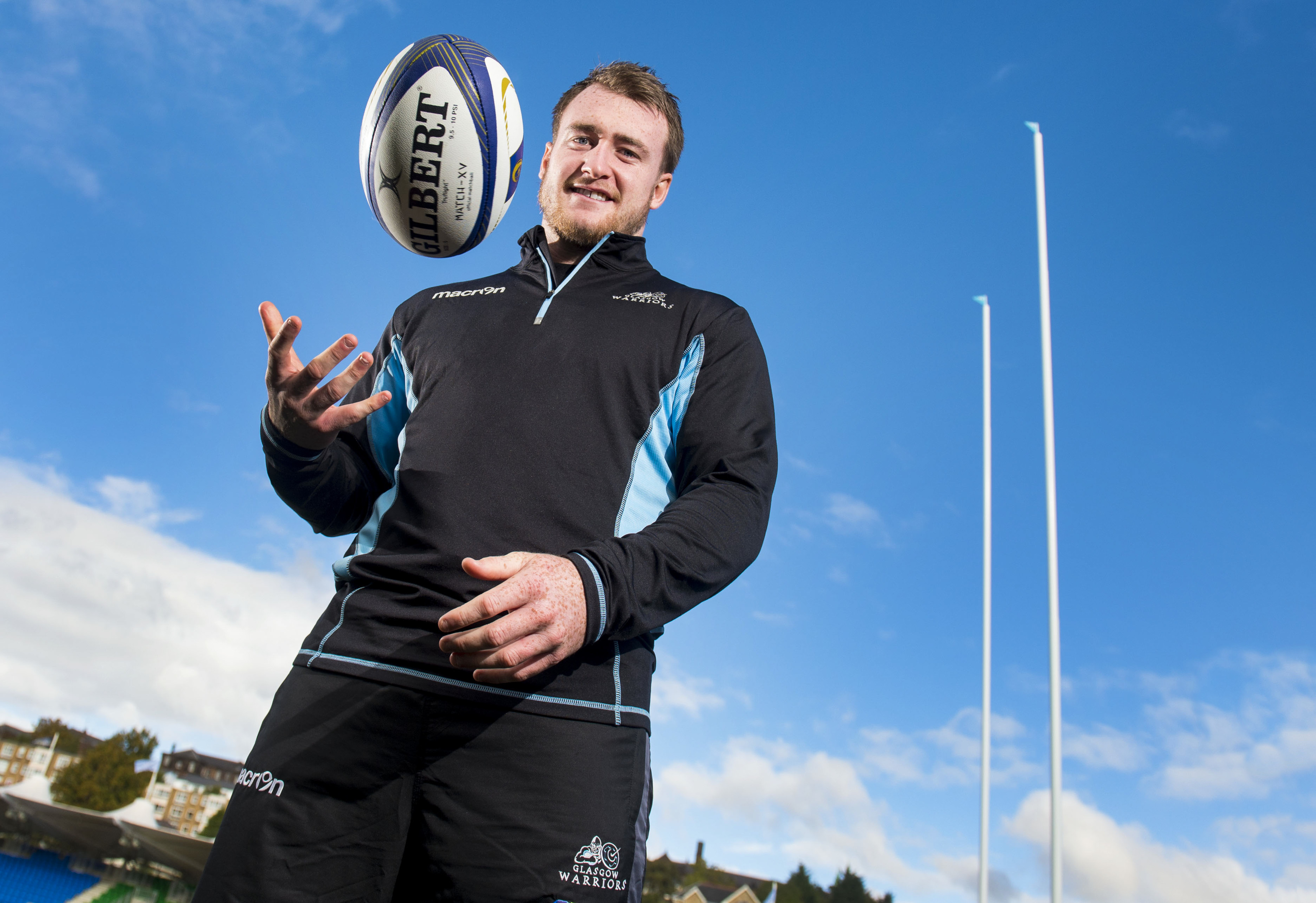Stuart Hogg has a new contract and wants European success with the Warriors.
