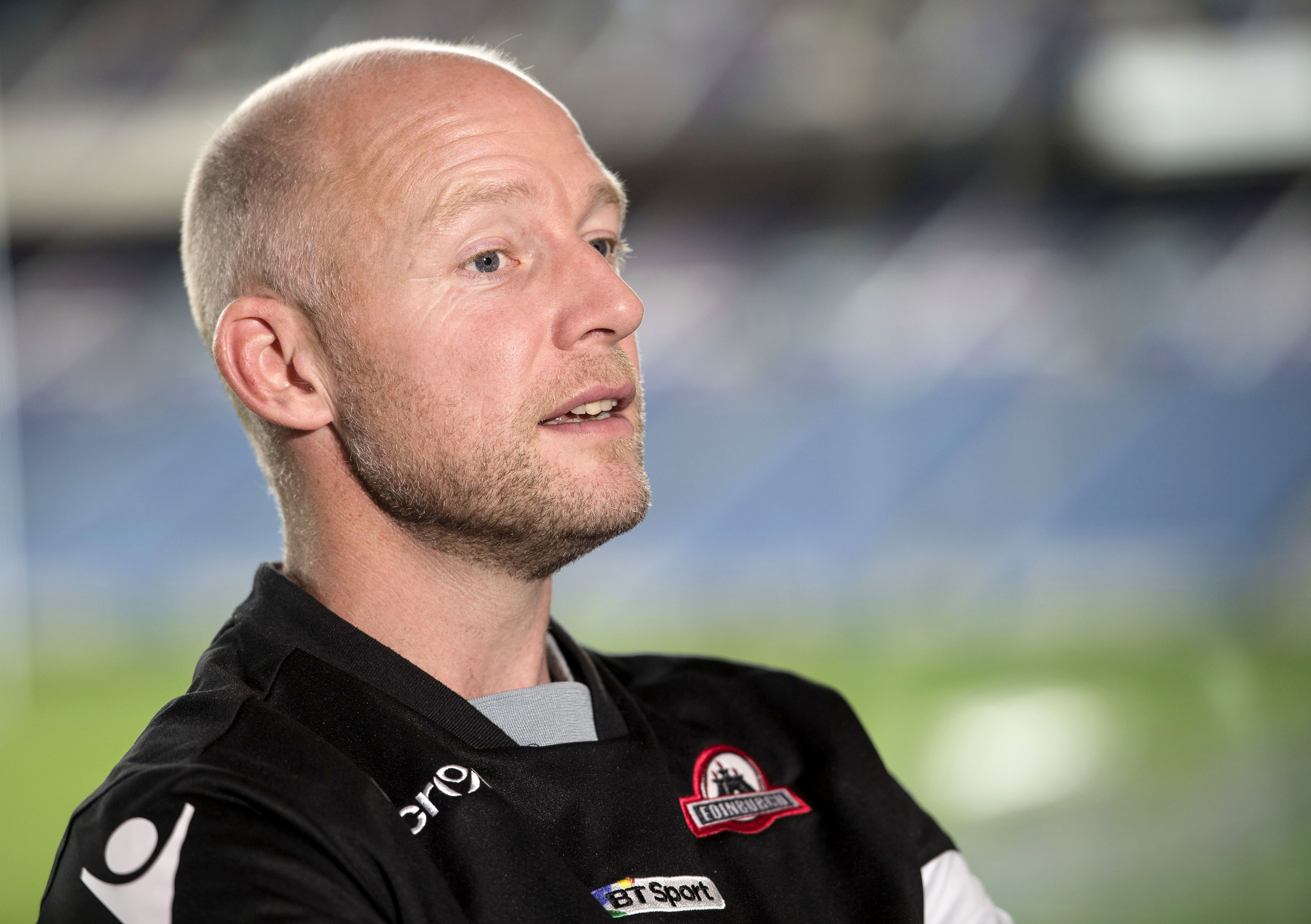 Scting hrad copach Duncan Hodge has opened out Edinburgh's game plan to the tune of 22 tries in their last three games.
