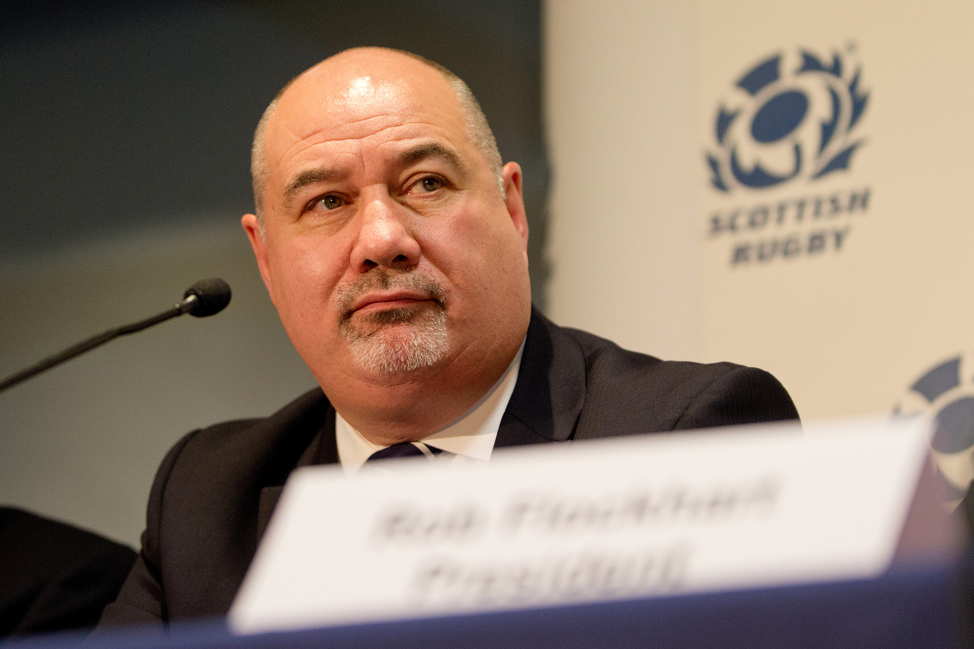 Scottish Rugby chief executive Mark Dodson.
