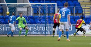 Saints concede a late goal to Partick Thistle.