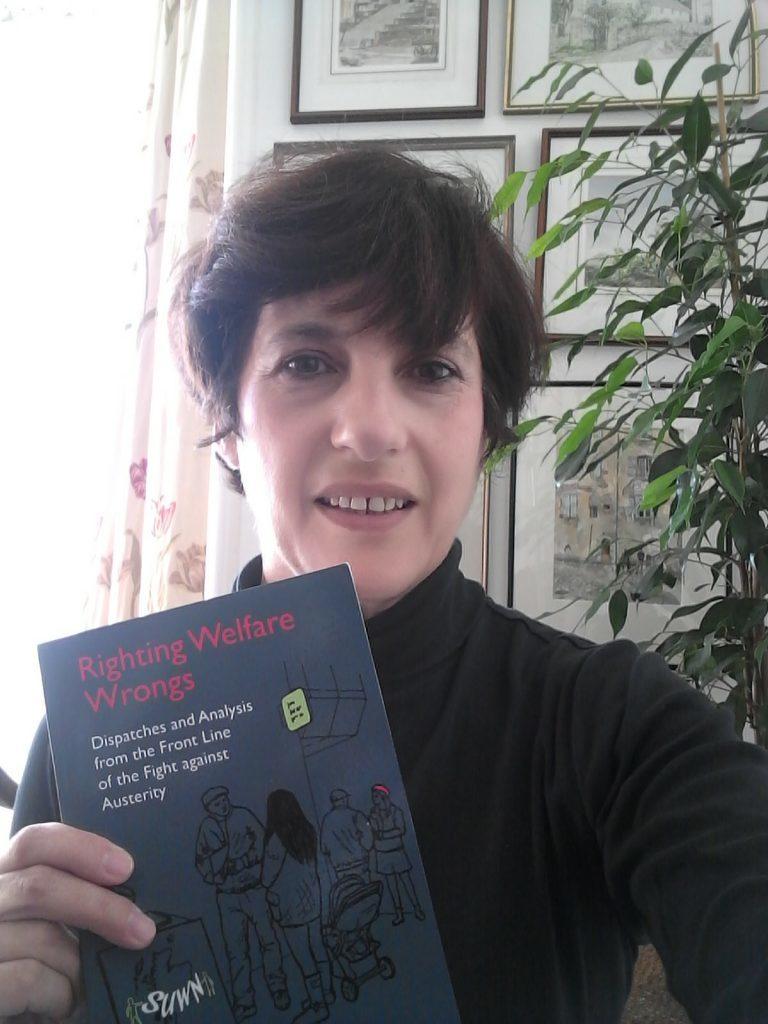 Sarah Glynn, a welfare activist from Dundee, who edited the book.