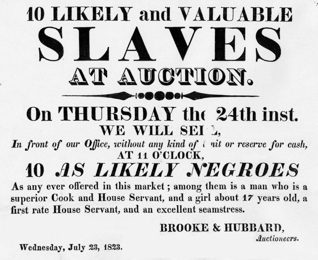 Slaves for sale