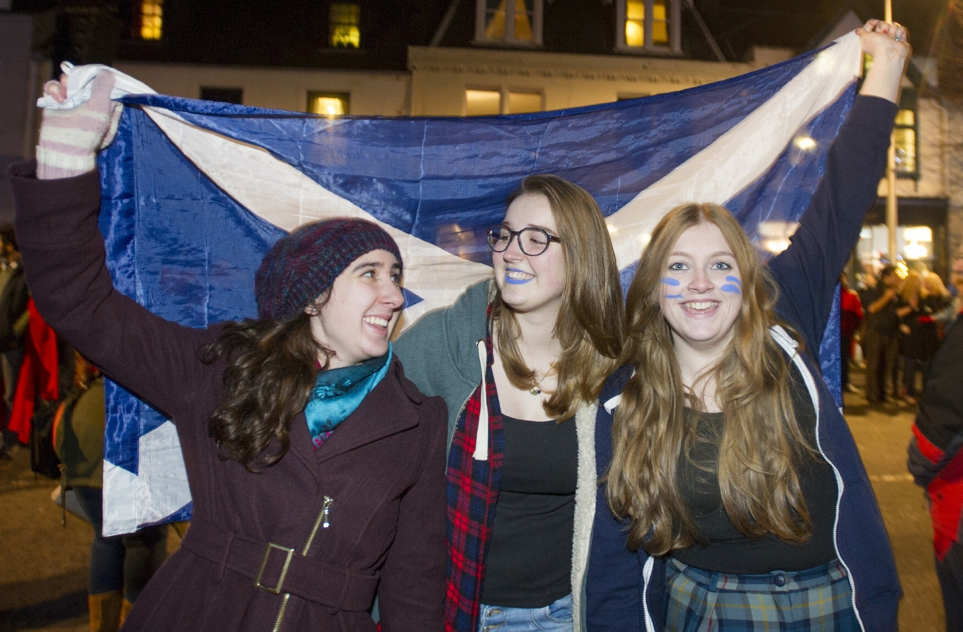 Scenes from a previous St Andrew's Day Celebration