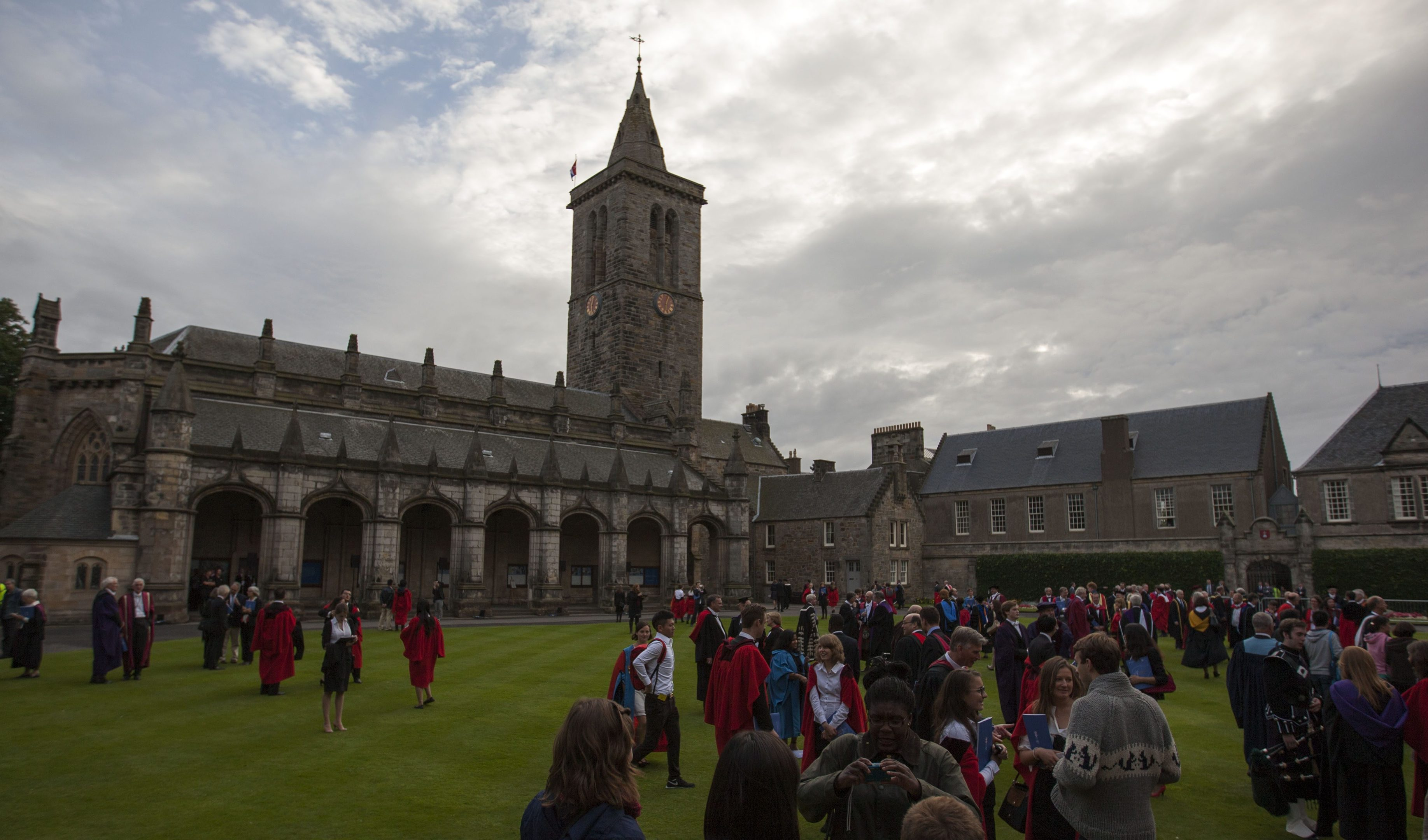 Two students from St Andrews University have been affected.