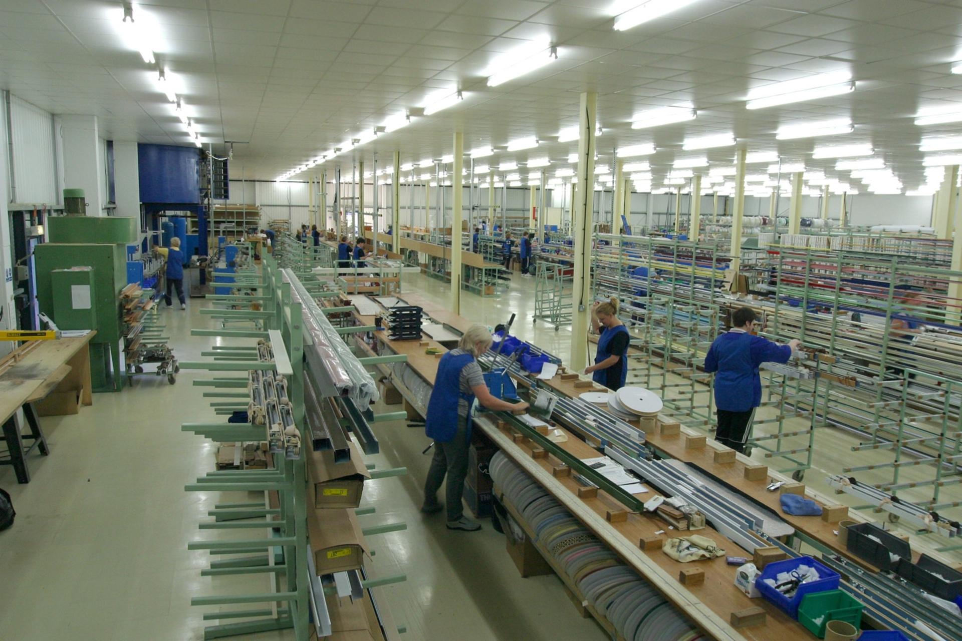 Manufacturing at Stevens (Scotland) Ltd, Denburn Way, Brechin.