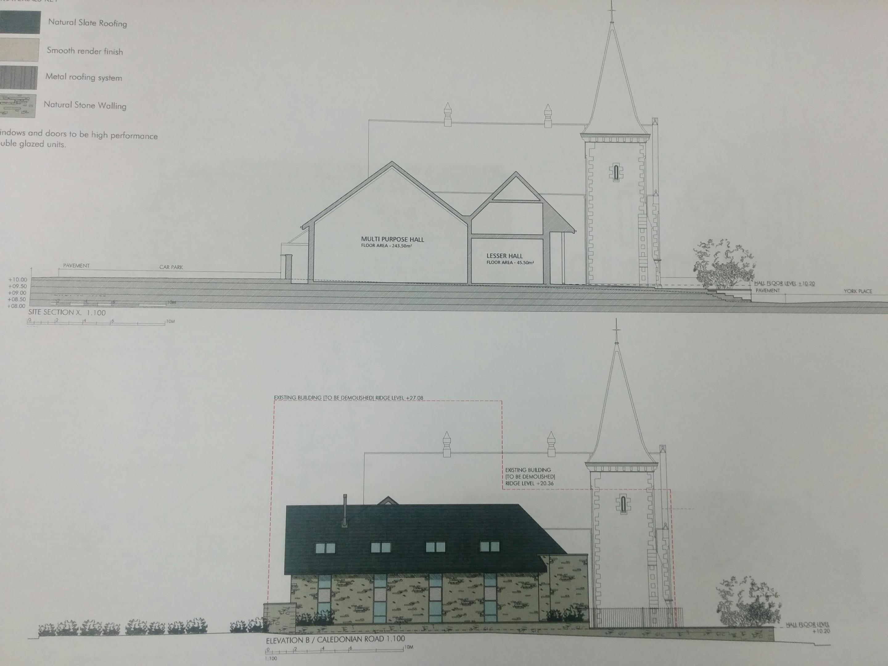 Graphic of the revised plans for the Waverley Hotel in Perth.