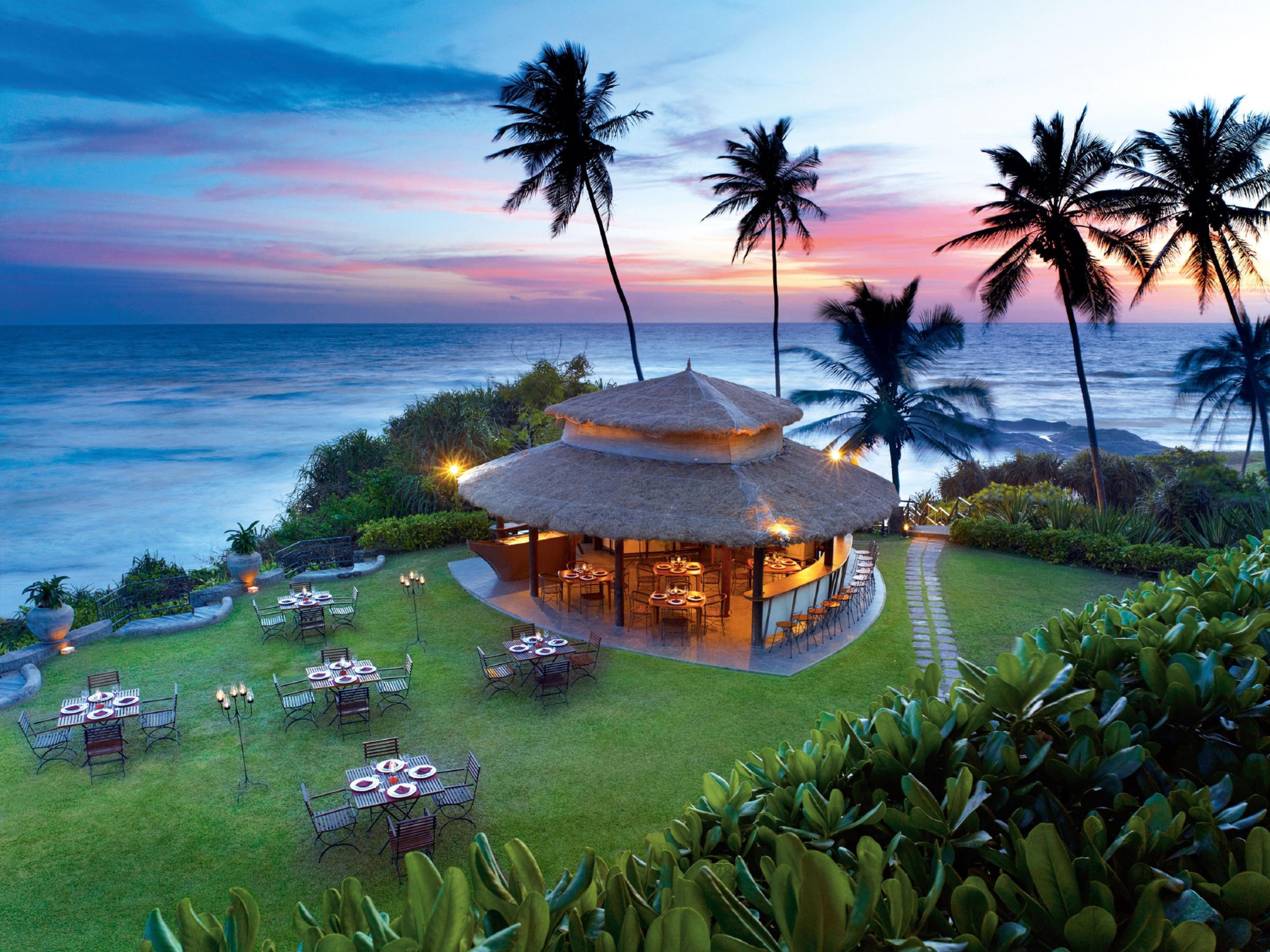 The Shack at Vivanta by Taj hotel in Bentota, Sri Lanka.