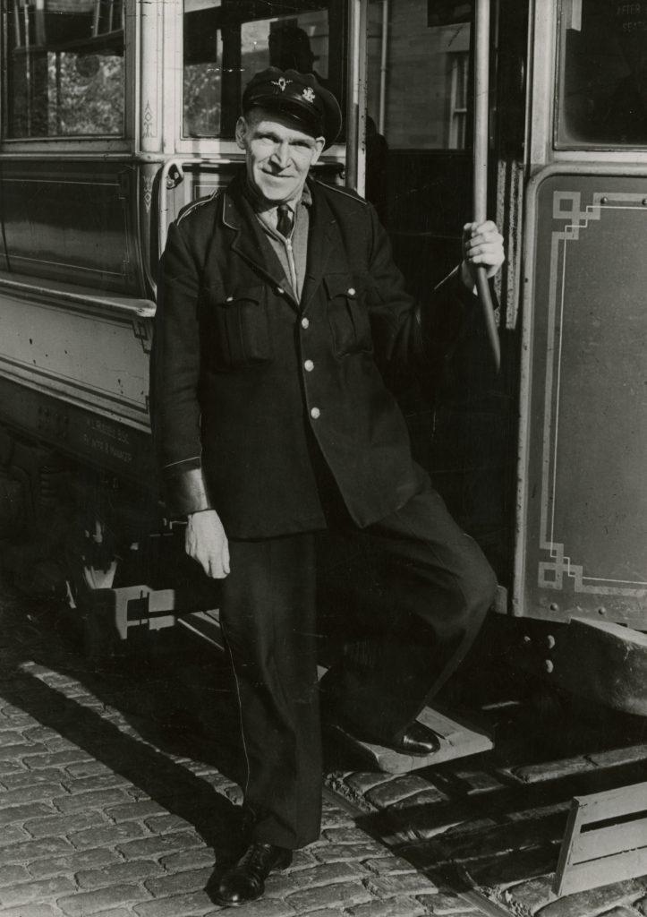 David Bates, tram driver.