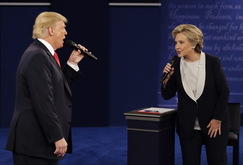 Trump and Clinton. Perfectly in tune?
