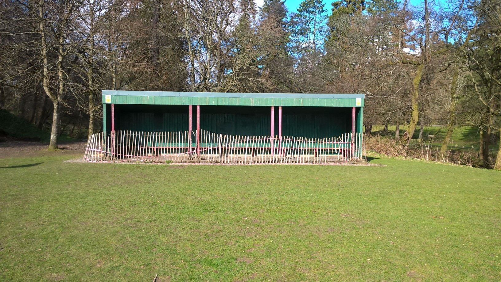 The Mungall Park shelter has been hugely popular with locals, offering both respite from the rain and a base for community and family events, such as barbeques.