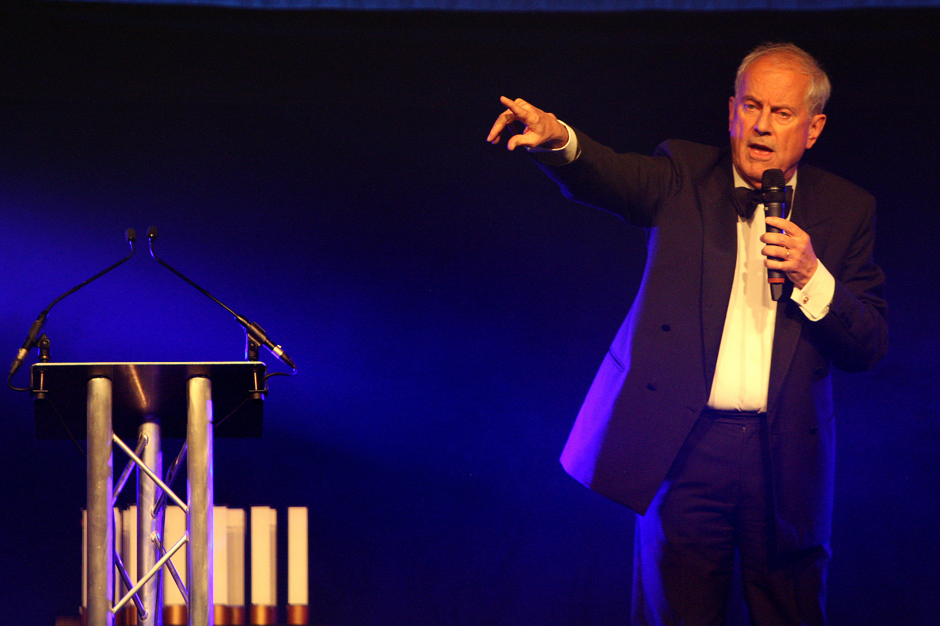 Gyles Brandreth is returning as host for the 2017 Courier Business Awards.