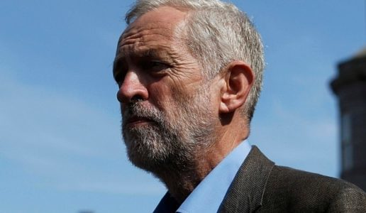 Jeremy Corbyn, leader of the UK Labour Party