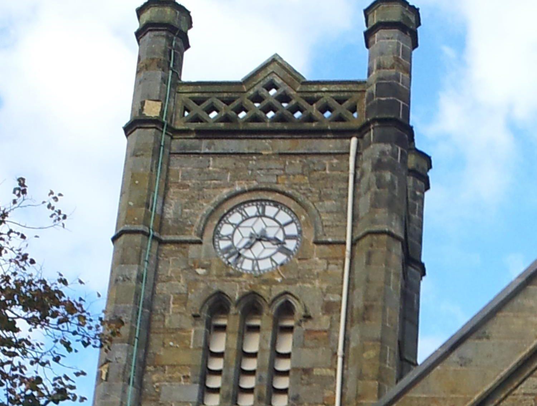 The restored clock.