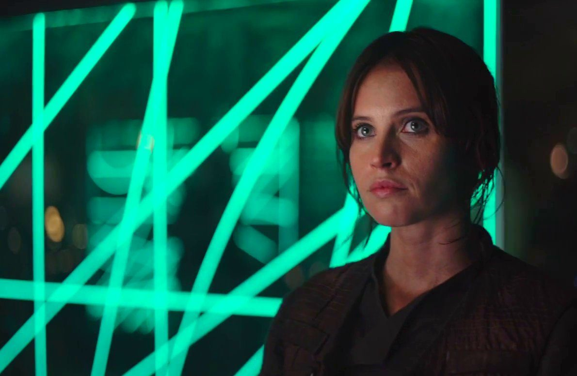 Felicity Jones stars as chief protagonist Jyn Erso in Rogue One