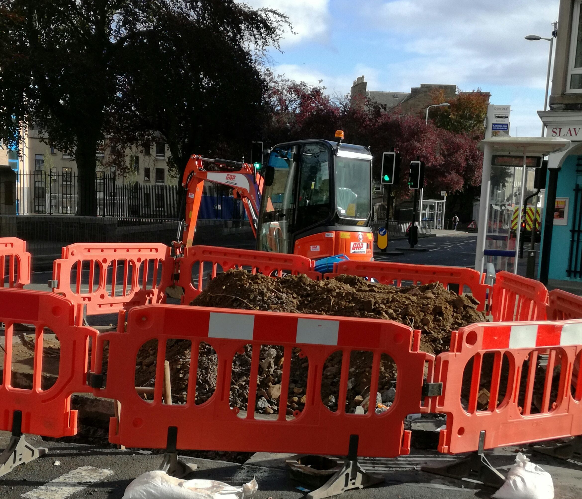 Previous works on Blackness Road caused hardship for local businesses.