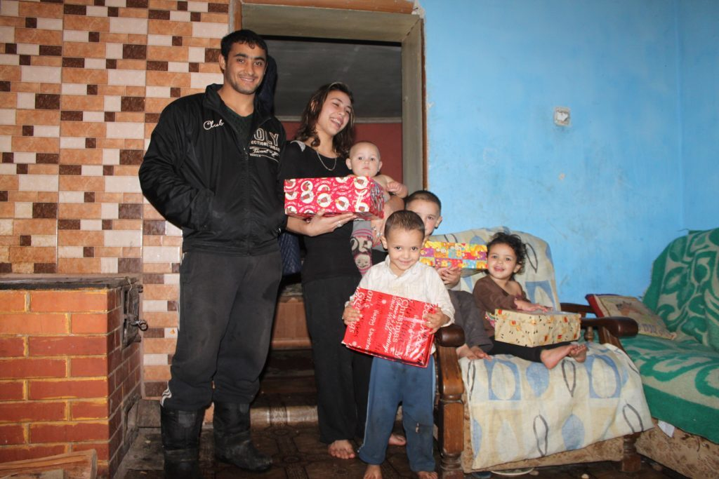 Organisations in each country help deliver them to impoverished families and communities.