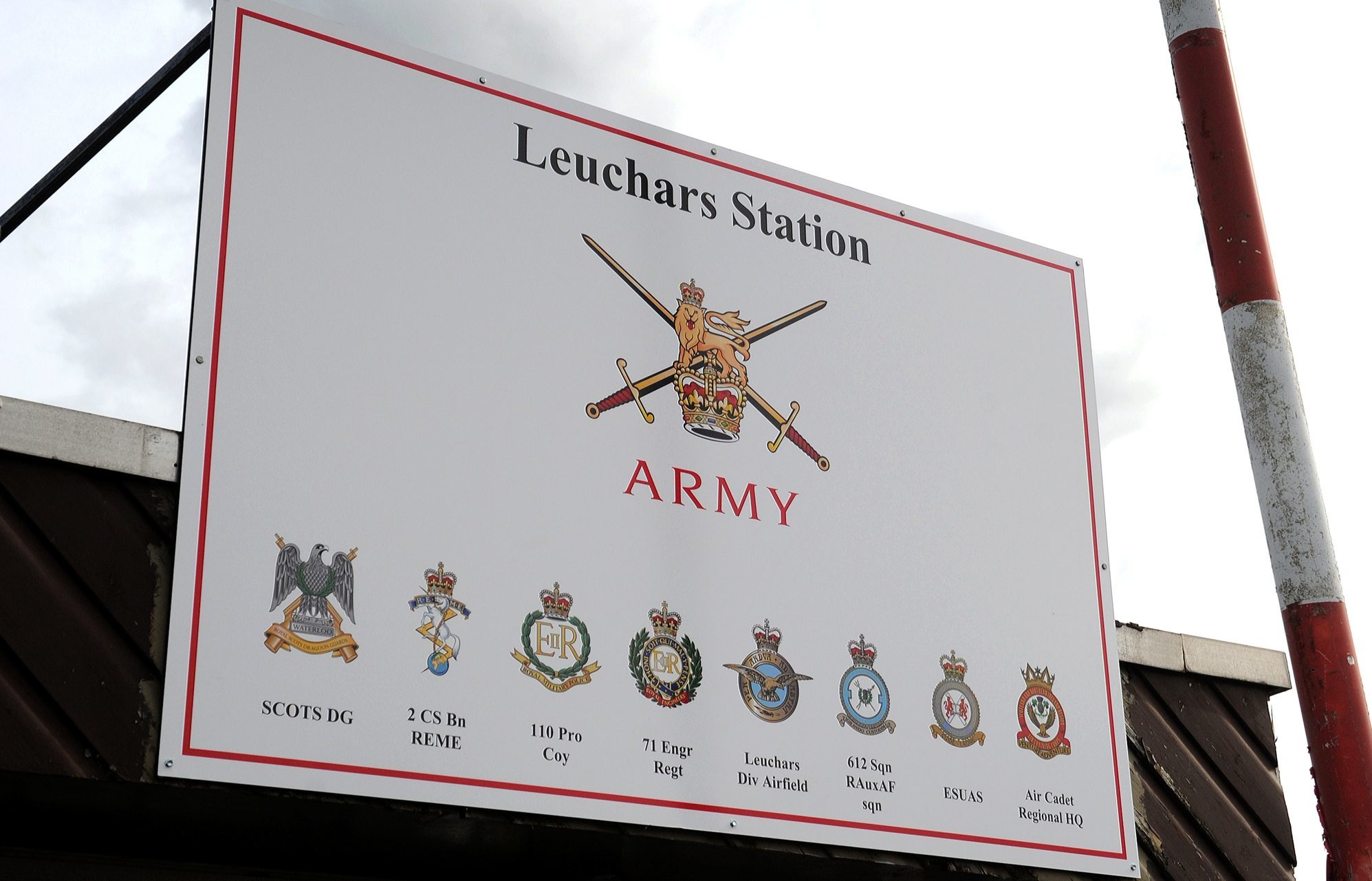 Leuchars Station.