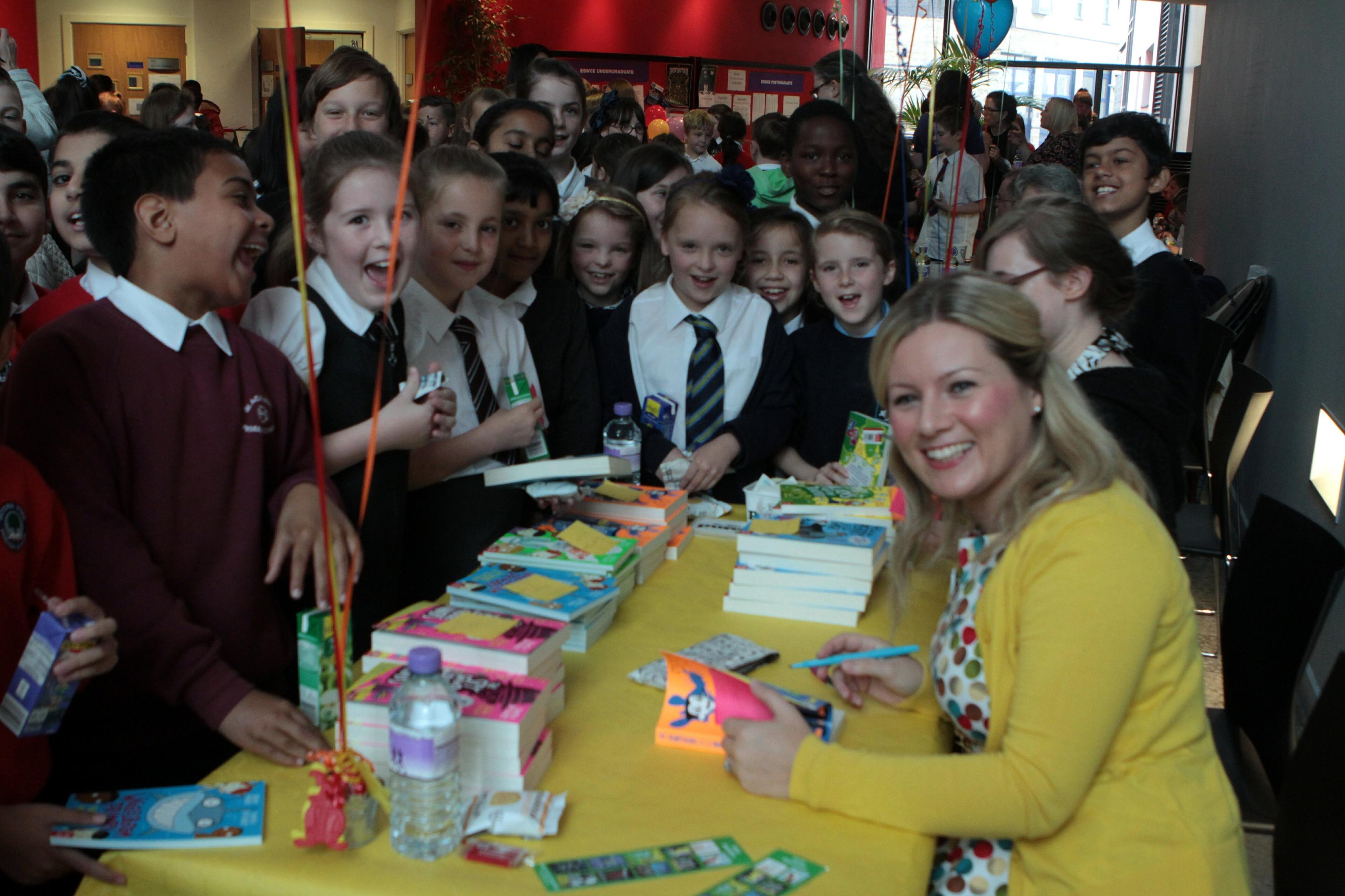 Pamela Butchart at the Dundee Area Children's Book Week