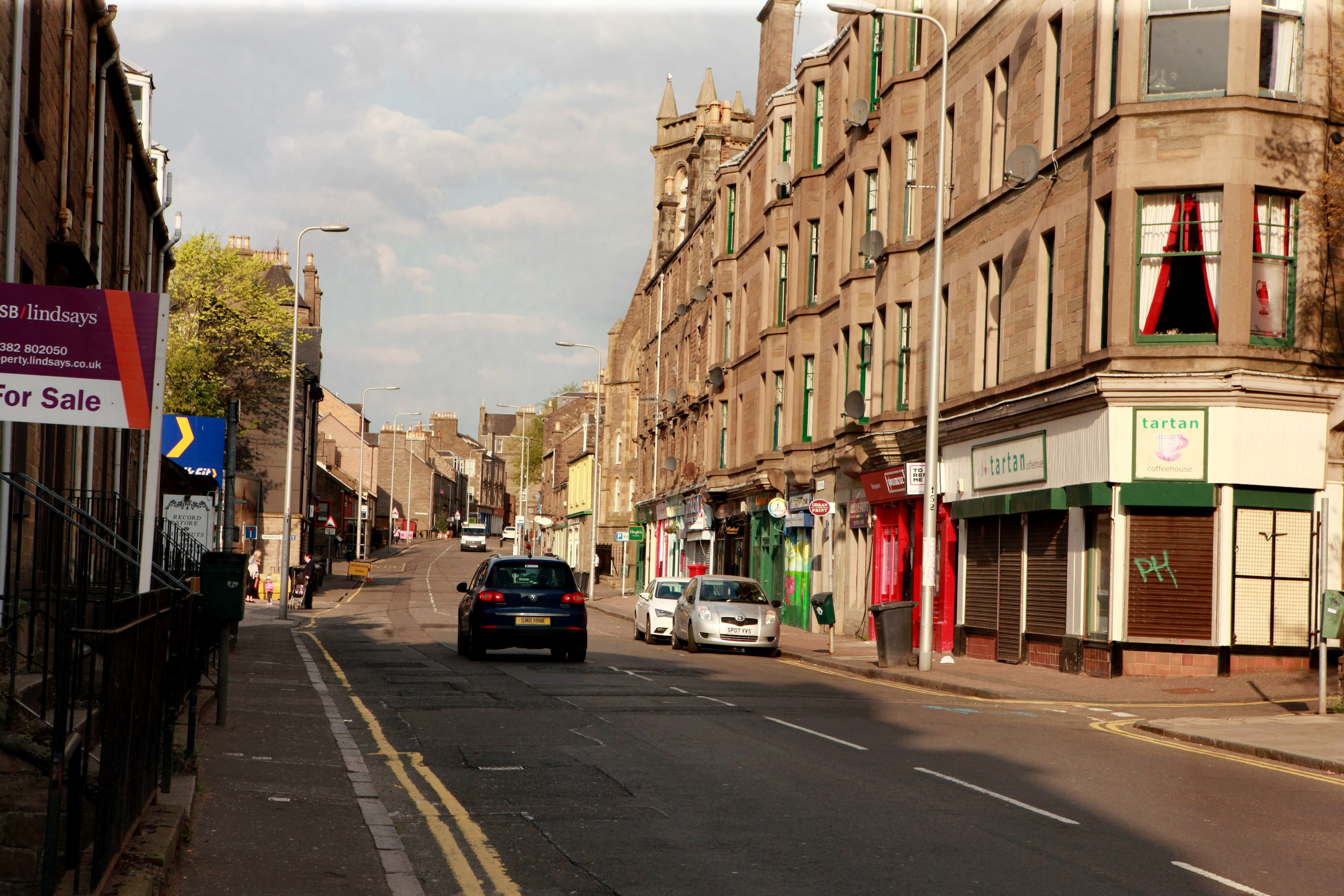 Parking is the single biggest concern of business owners on Perth Road