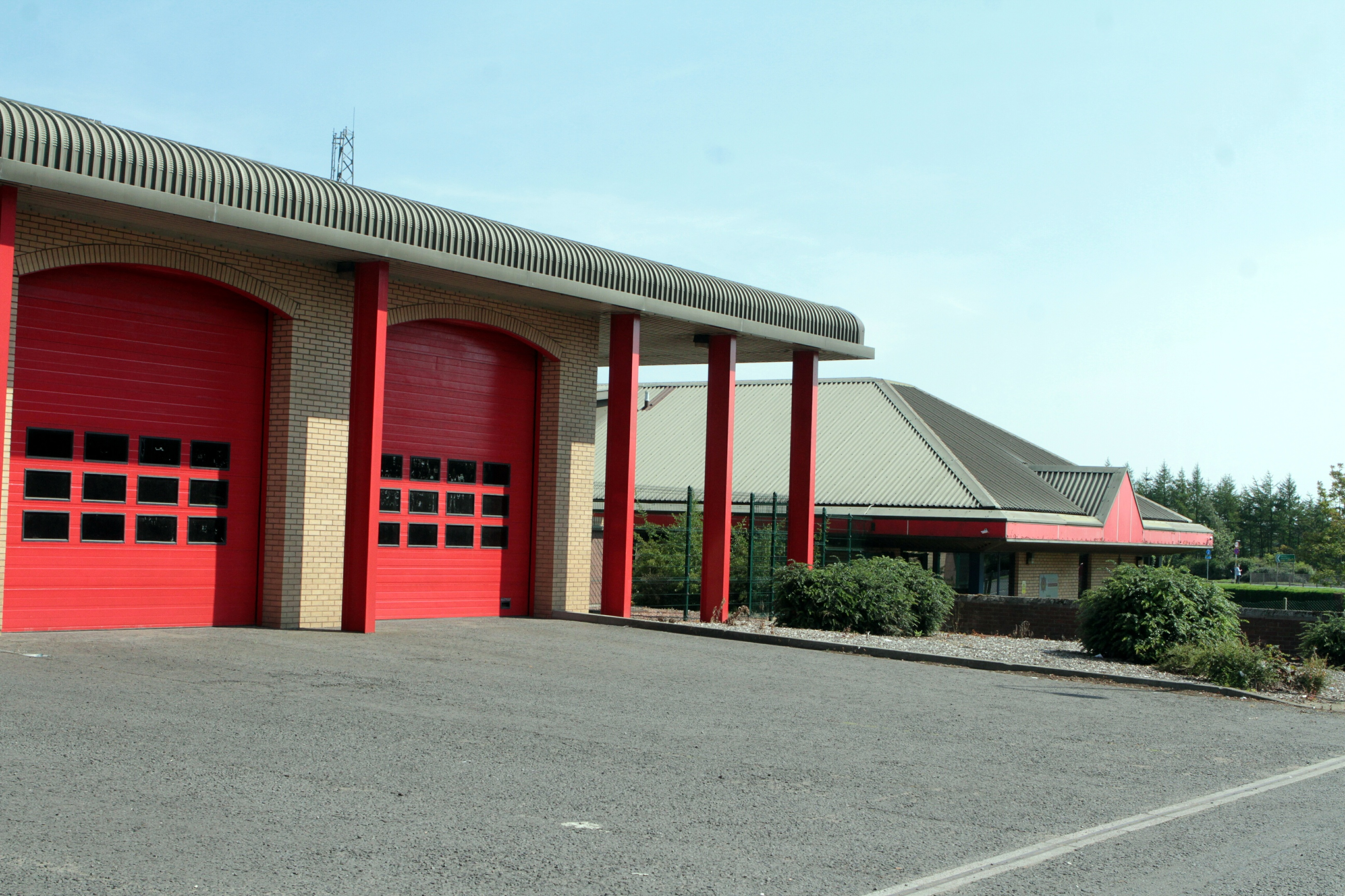 Macalpine Road Fire Station.