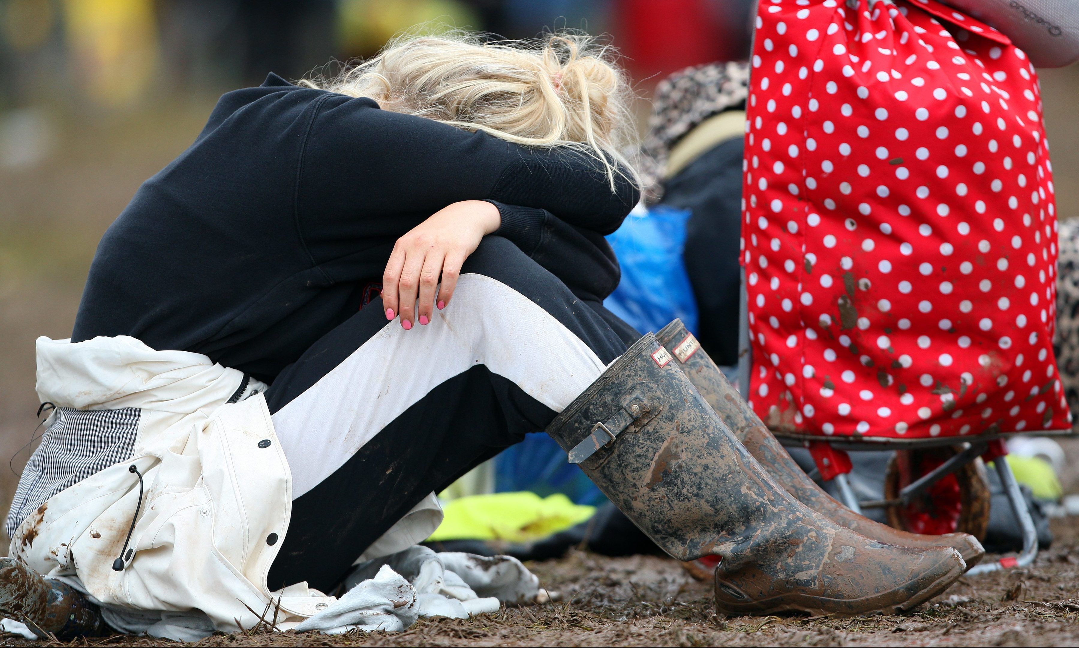 T in the Park: the party is over, at least for now.