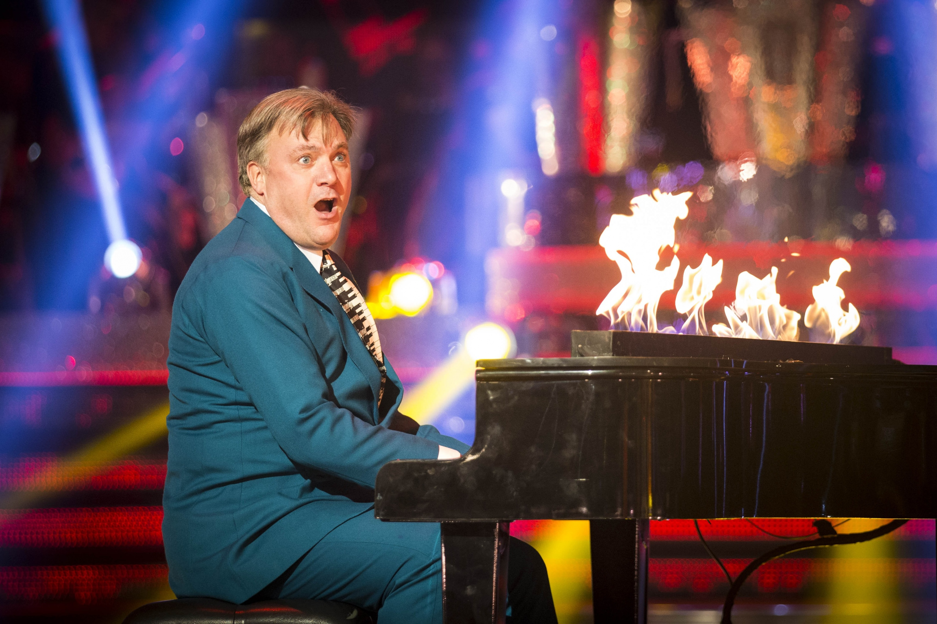 Ed Balls on Strictly.