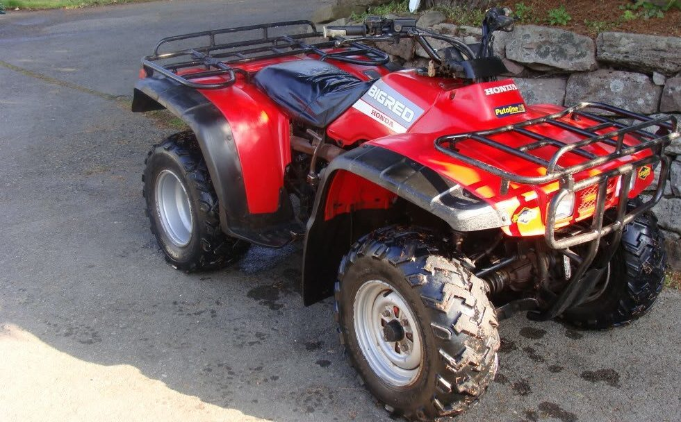 A quad bike similar to the one stolen.
