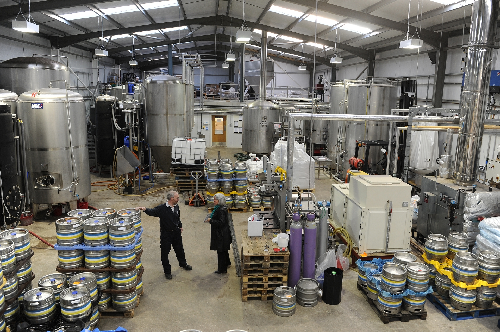 The Inveralmond Brewery is to be renamed the Innis & Gunn Brewery under the investment plan.