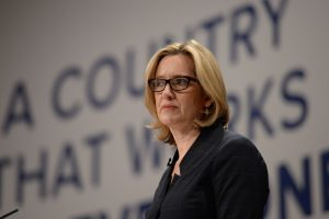 Home Secretary Amber Rudd MP.