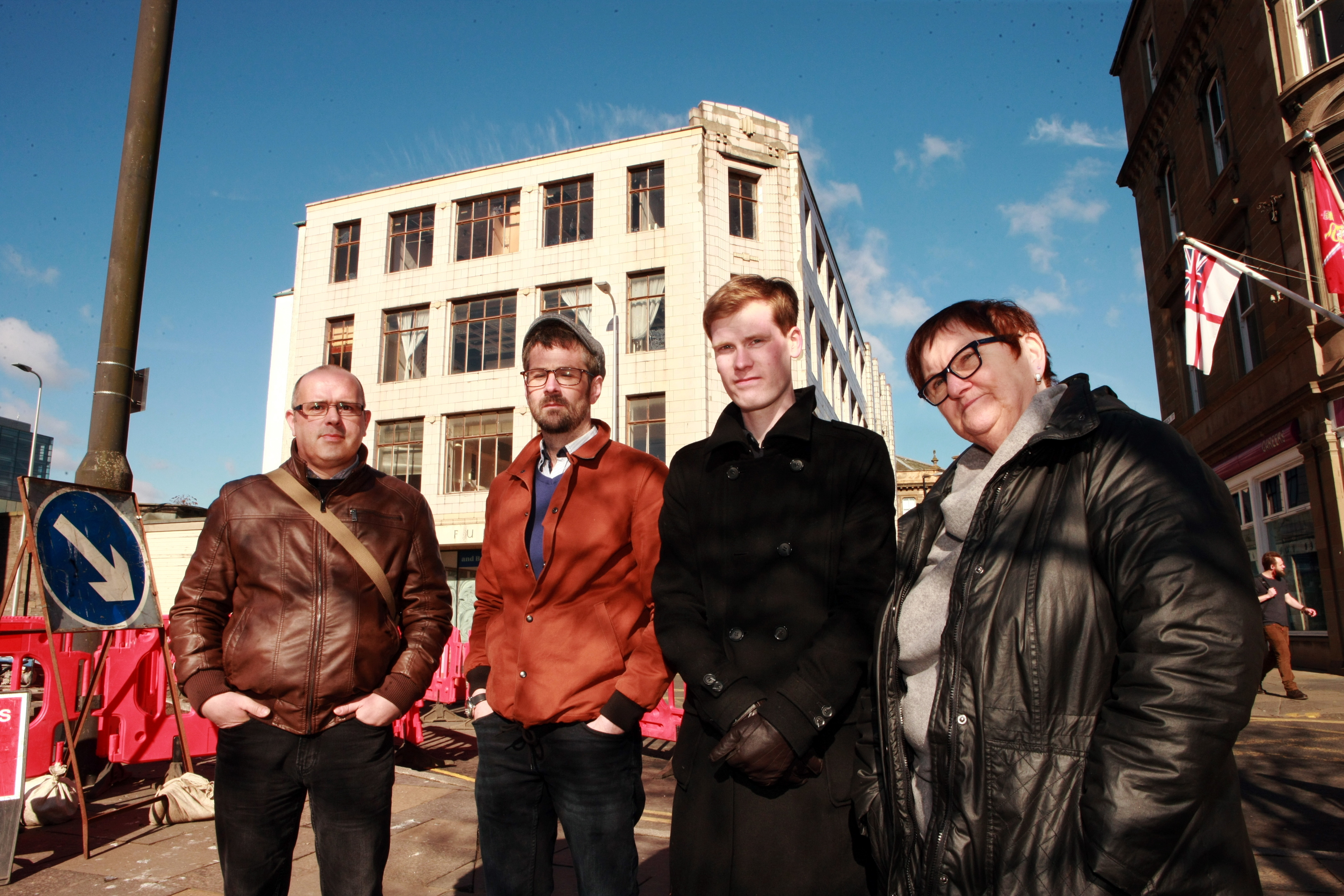 Phil Doig and other campaigners fought to turn the building into a cultural hub.
