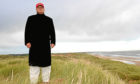 Donald Trump at his golf course at Menie near Aberdeen.