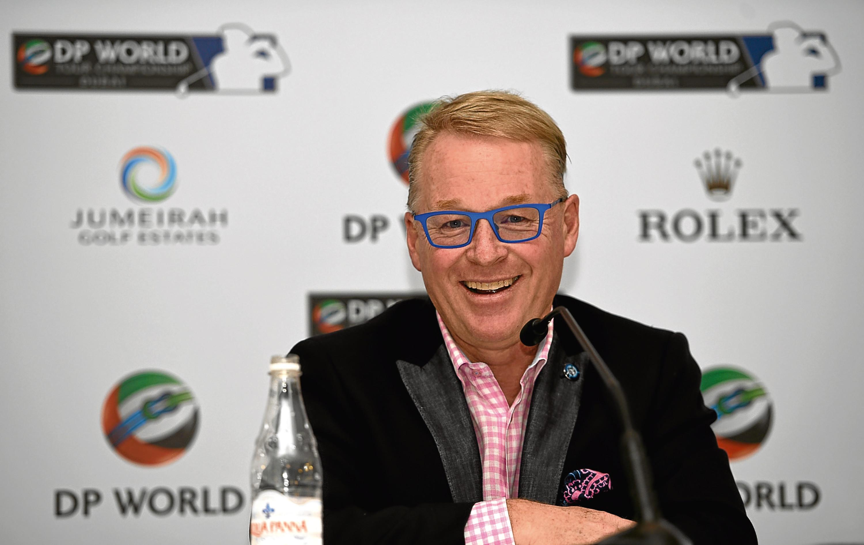 European Tour chief executive Keith Pelley.