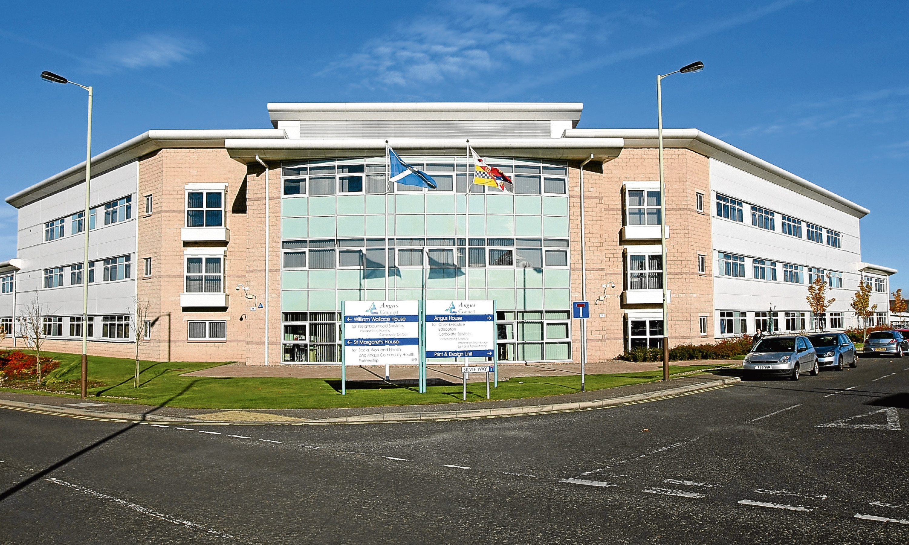 Angus House council HQ.