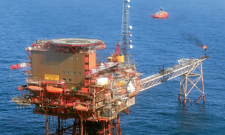 And oil platform.