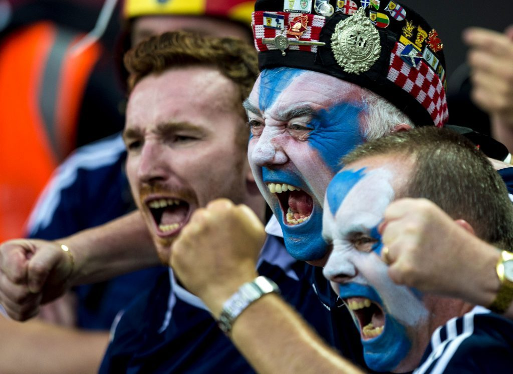 Will Scotland fans be celebrating at Wembley?