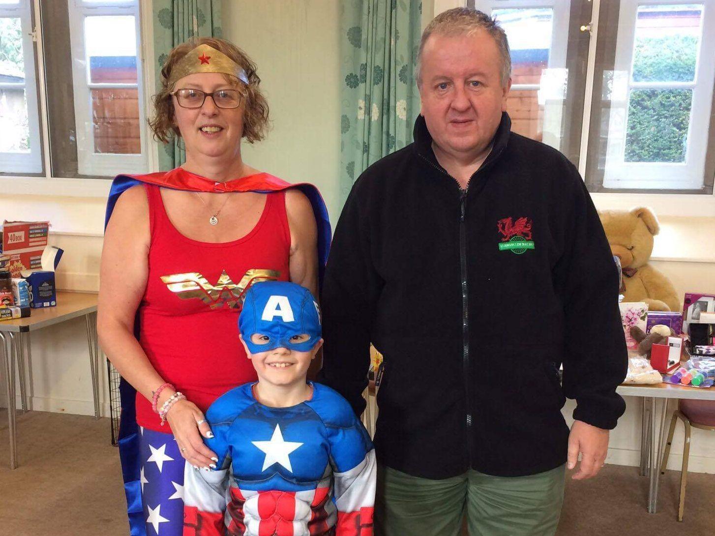 Linda, Adam and John Walker of TCCL.