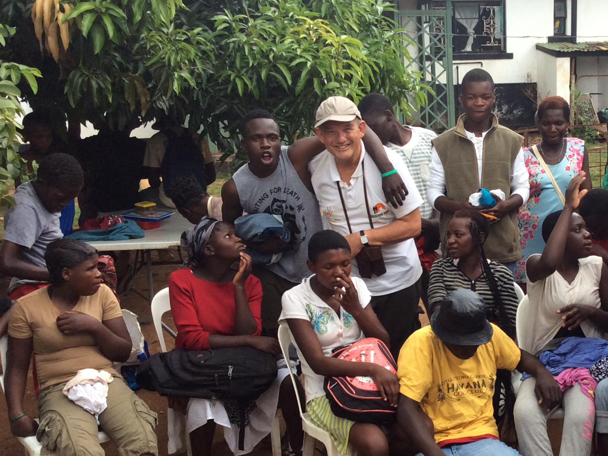 Alan Calder-McNicoll, on a visit to Zimbabwe