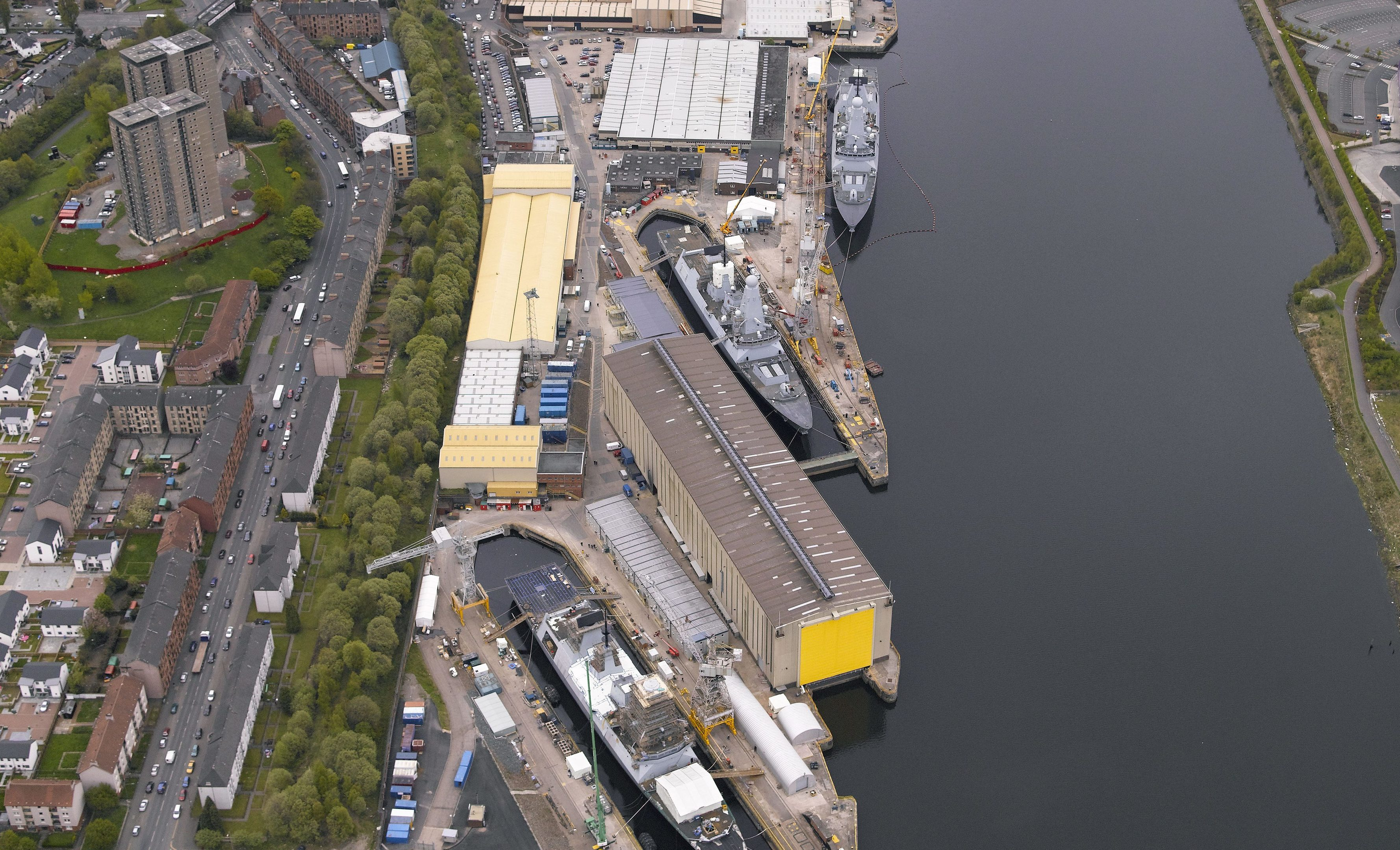 The shipyard is expected to see a huge rise in employment
