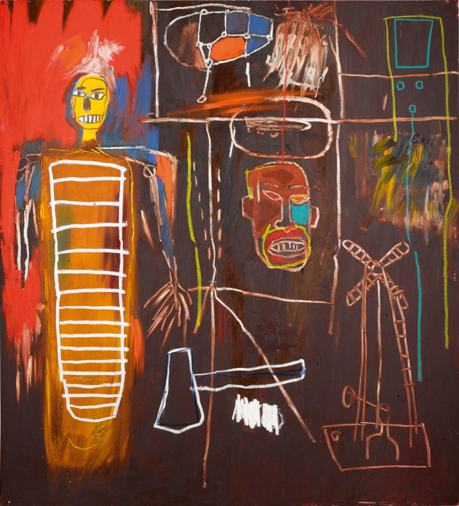 Air Power by Jean-Michel Basquiat sold for £7.1 million