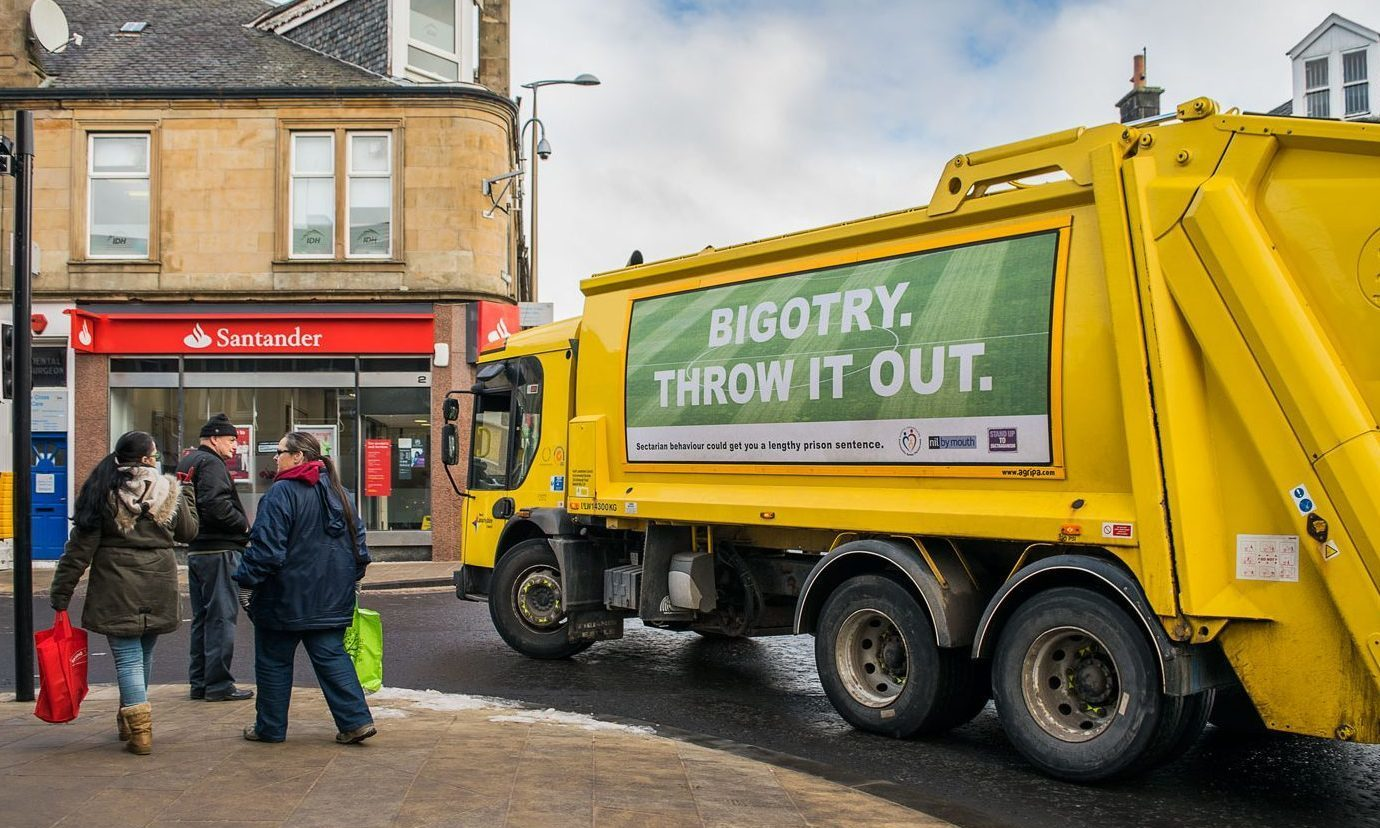 Selling advertising space on council vehicles has been successful in other parts of Scotland.