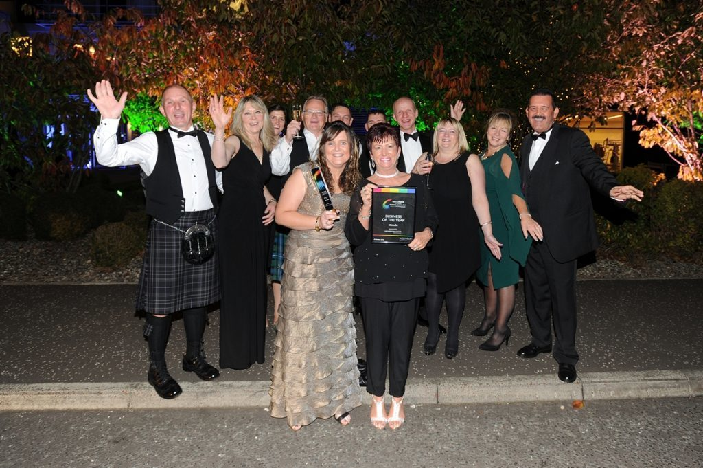 Michelin Dundee was named Business of the Year at the 2016 Courier Business Awards