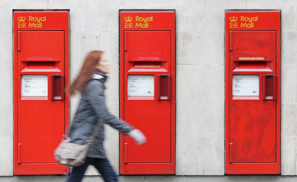 Royal Mail profits