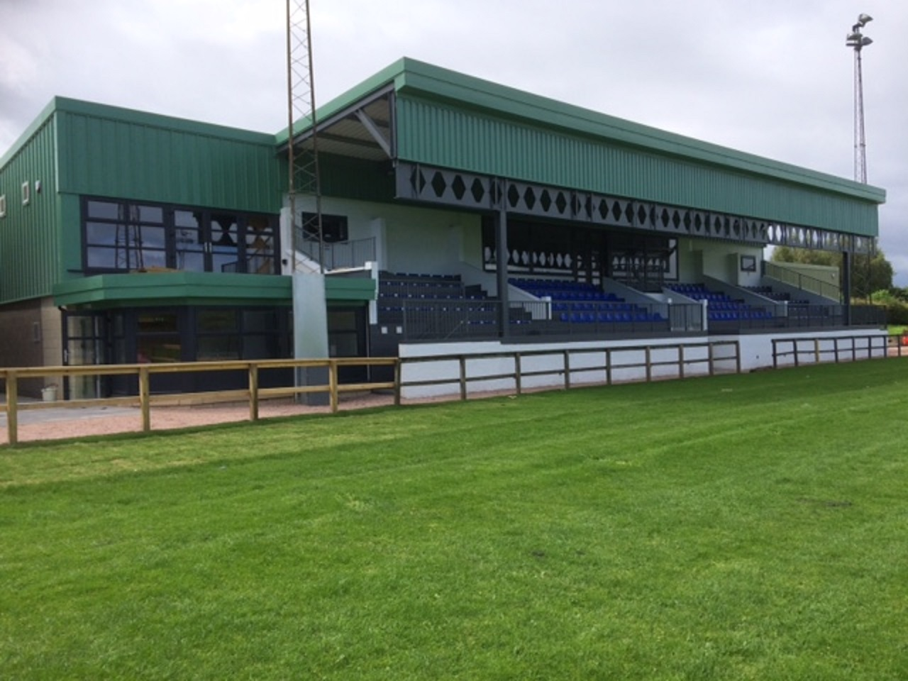 The beautiful new Duffus Park clubhouse finally saw a first home win on Saturday.