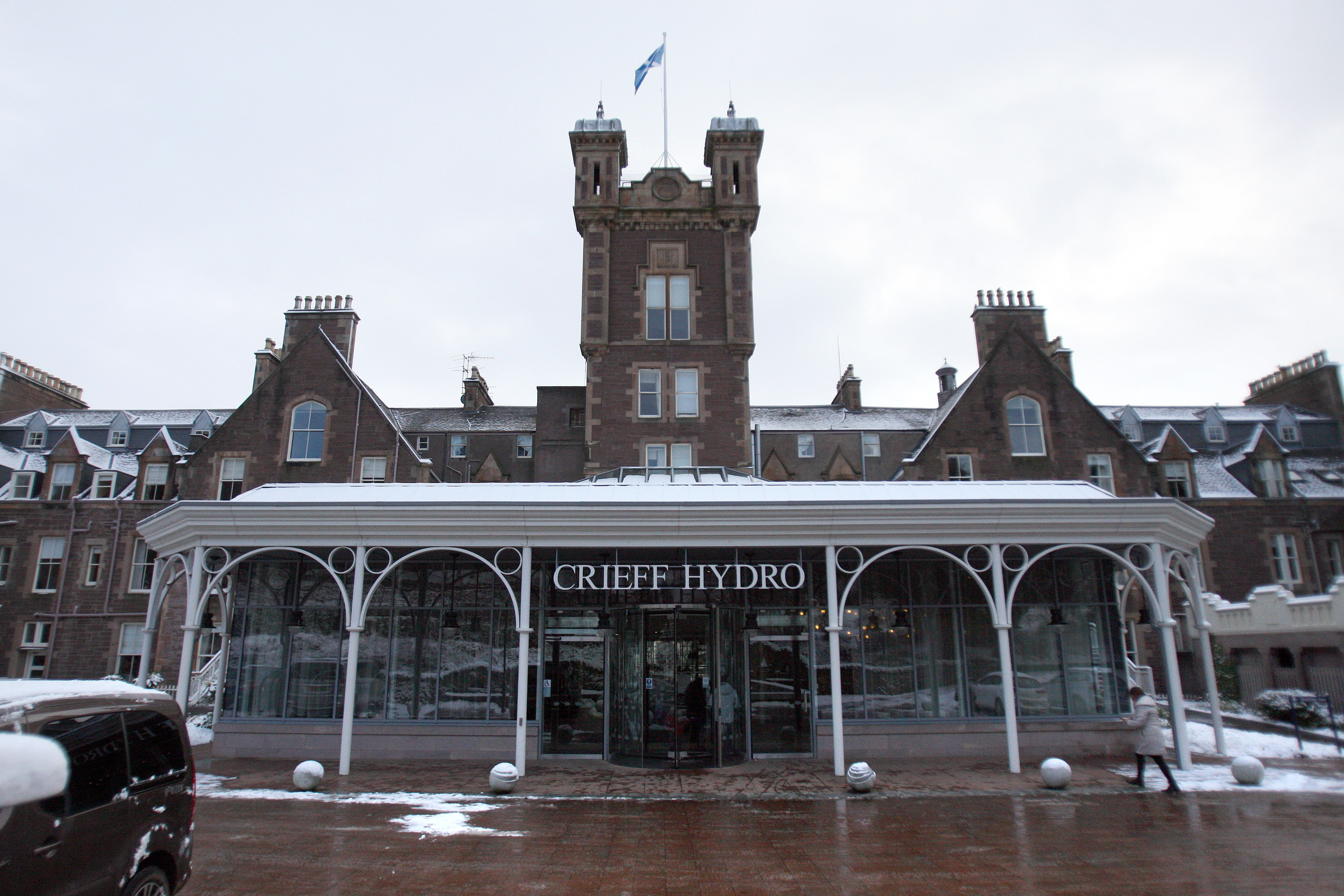 Crieff Hydro Hotel is one of many businesses which could be hit by a massive rates increase