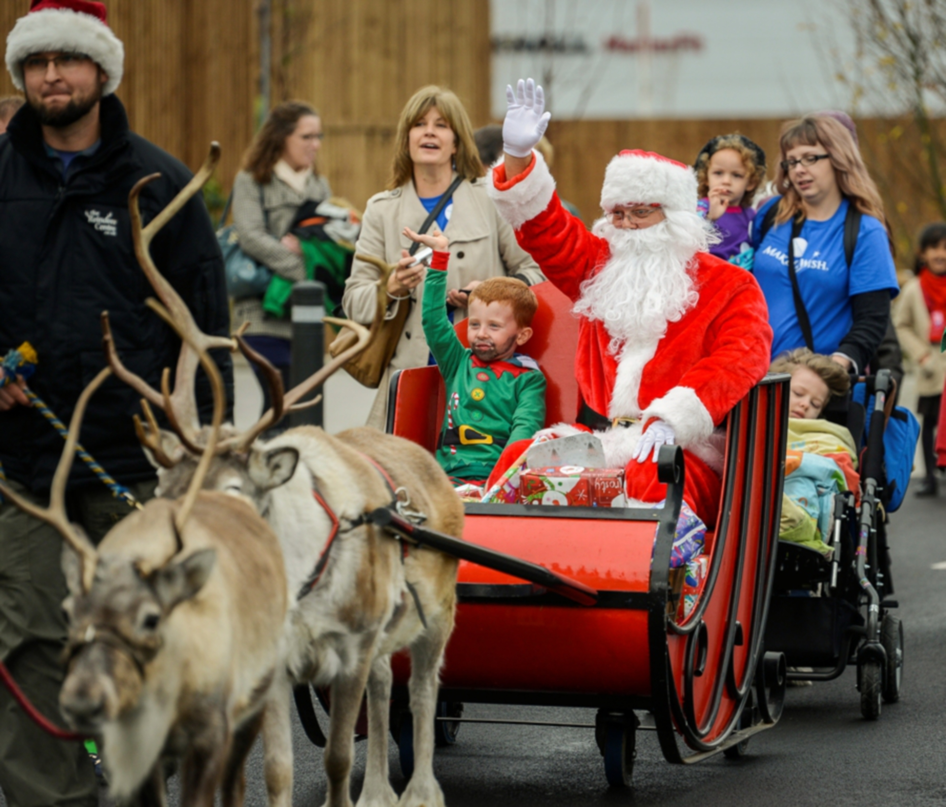 Expect lots of festive fun at Dobbies Perth on November 20.